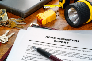 Picture of a Nassau County home inspection report